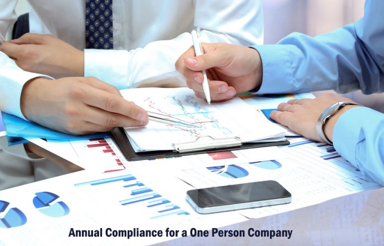 Annual Compliance for a One Person Company